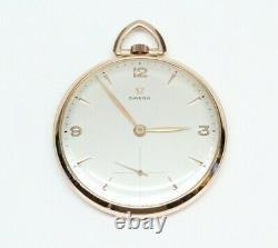 Vintage OMEGA Pocket Watch Calibre 140 15 Jewel Movement GORGEOUS
