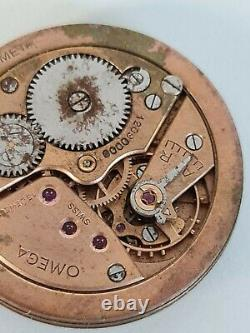 Vintage Original OMEGA 265 manual Winding movement For Parts Doesn't Work