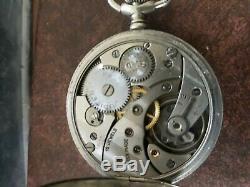 Vintage Pocket Watch. Cortebert (Jupiter) movement 616 very good working