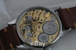 Vintage Rolex Lever MEN'S SKELETON POCKET WATCH MOVEMENT