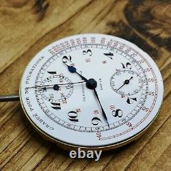 Vintage Tissot Locle Chronograph Pocket Watch Movement, Rare Calibre (C169)