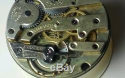 Vintage Vacheron Constantin pocket watch movement, good balance