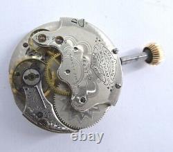 Vintage Waltham Taschenuhr werk pocket watch movement 30mm working (Z682)