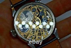 Vintage Wristwatch Rolex Marriage Swiss Pocket Watch Movement
