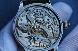 Vintage chronograph pocket watch movement ulysse nardin