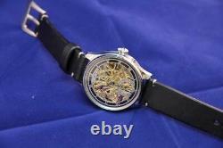 Vintage chronometer iwc schaffhausen SKELETON POCKET WATCH MOVEMENT