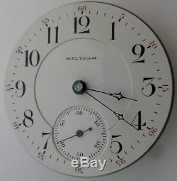 Waltham 1892 Appleton Tracy Pocket Watch 18s 17 j. Adj. Movement & dial OF