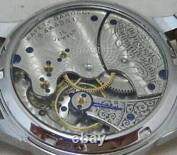 Waltham 6s Pocket To Wrist Watch Conversion, 40mm, POLYCHROME DIAL 1899 Movement