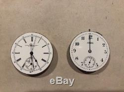 Waltham Double Dial Chronogragh Movement& Patek Philippe Split Sec Chronograph