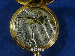 Waltham Rolled Gold Star Cased Pocket Watch with Seaside Movement c1902