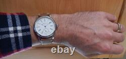 Waltham Size 6 Pocket Watch Conversion 40mm SS Marriage Watch 1894 Movement NICE