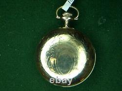 Waltham Vanguard 18 Size 21 Jewel Railroad Pocket Watch