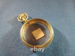 Watchmaker Estate Vintage 18s Sales Pocket Watch Display Case 4 YOUR Movement