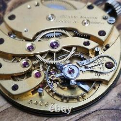 Working High Grade Ulysse Nardin Pocket Watch Movement (H114)