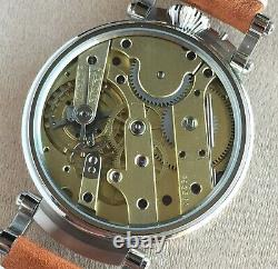 Wristwatch 45mm Pocket Watch Movement by Vacheron & Constantin Marriage