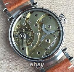 Wristwatch 45mm with Vintage Pocket Watch Movement by Patek Philippe Marriage