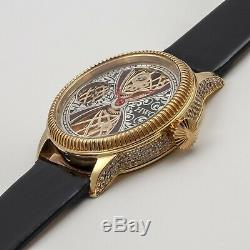 Wristwatch from Pocket Gilding Case Movement Watch Vintage New Hand Engraved HWC