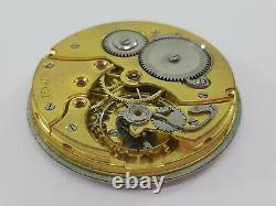 Zenith Pocket Watch Movement & Porcelain Dial Manual Swiss Made